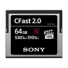 Sony 64GB CFast 2.0 G Series Memory Card