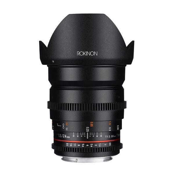 Rokinon 24mm T1.5 Full Frame Cine DS Lens
