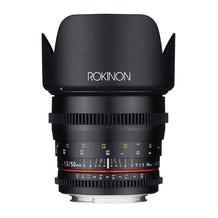 Rokinon 50mm T1.5 Full Frame Cine DS Lens for Canon EF Mount