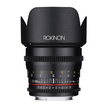 Rokinon 50mm T1.5 Full Frame Cine DS Lens (E Mount)
