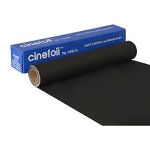 "Rosco 48"" x 25' Matte Black Cinefoil"