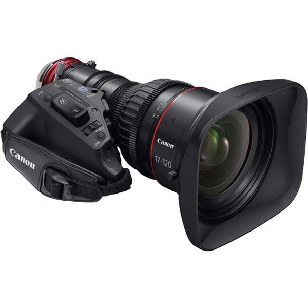Canon CN7x17 KAS S Cine-Servo 17-120mm T2.95 EF Lens