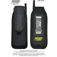 Ripoffs CO-27A. Motorola & Nokia Cell Phone Holster (and others)  w/ spring steel belt clip