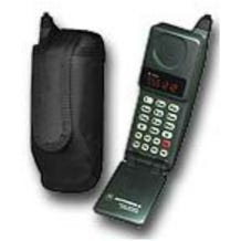 Ripoffs CO-28A. Nokia Cell Phone Holster w/ spring steel belt clip.  150/ 2160 w/ ext. battery/ 2180. Motorola Flip & more.