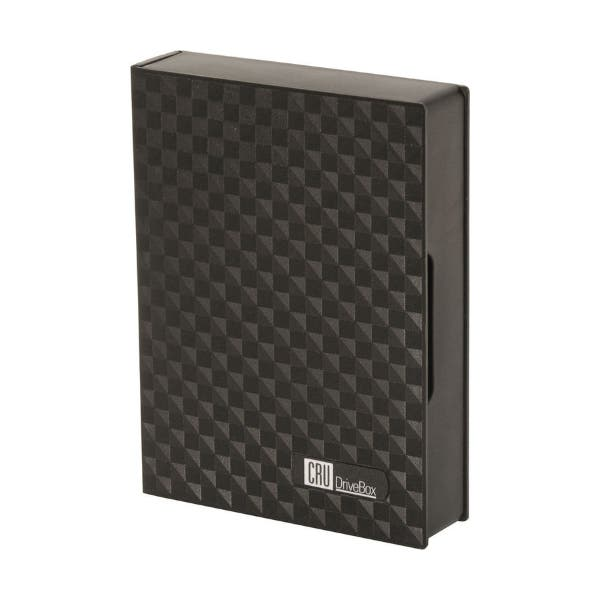"""CRU DataPort Drivebox Anti-Static Case for 3.5"""" Hard Drives (Pack of 10)"""