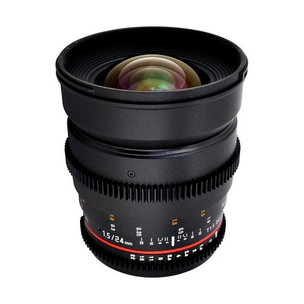 Rokinon 24mm T1.5 Cine ED AS IF UMC Lens for Canon EF Mount