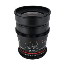 Rokinon 35mm T1.5 Cine ED AS IF UMC Lens for Canon EF Mount