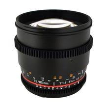 Rokinon 85mm T1.5 Cine ED AS IF UMC Lens for Canon EF Mount
