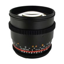 Rokinon 85mm T1.5 Cine AS IF UMC Lens (MFT Mount)