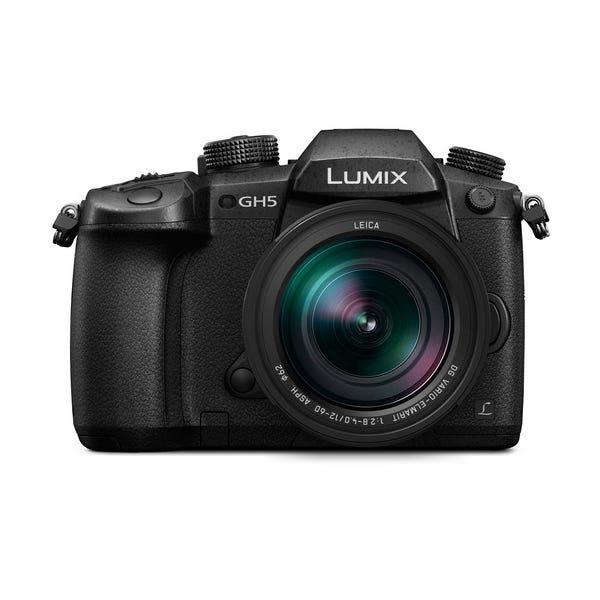 Panasonic Lumix DC-GH5 Mirrorless Micro Four Thirds Digital Camera with 12-60mm Lens