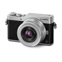 Panasonic Lumix DC-GX850 Micro Four Thirds Mirrorless Camera with 12-32mm Lens - Silver