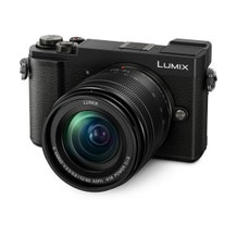Panasonic Lumix DC-GX9 Mirrorless Micro Four Thirds Digital Camera with 12-60mm Lens - Black