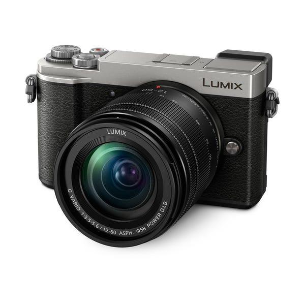 Panasonic Lumix DC-GX9 Mirrorless Micro Four Thirds Digital Camera with 12-60mm Lens - Silver