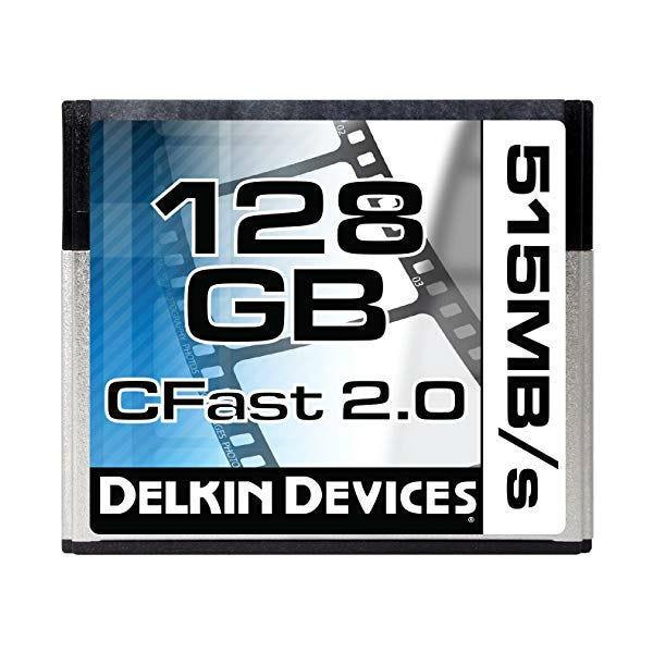 Delkin 128GB CFast 2.0 Memory Card