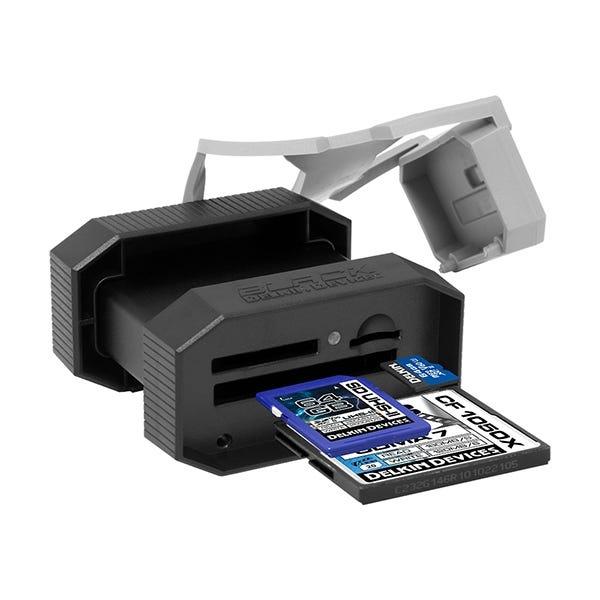 Delkin Devices BLACK USB 3.0 Rugged Multi-Slot Memory Card Reader