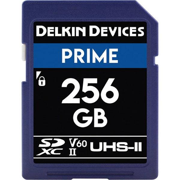 Delkin 256GB Prime UHS-II SDXC Memory Card