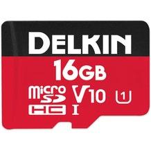 Delkin 16GB microSDHC 500X Memory Card