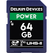 Delkin 64GB Power UHS-II SDXC Memory Card
