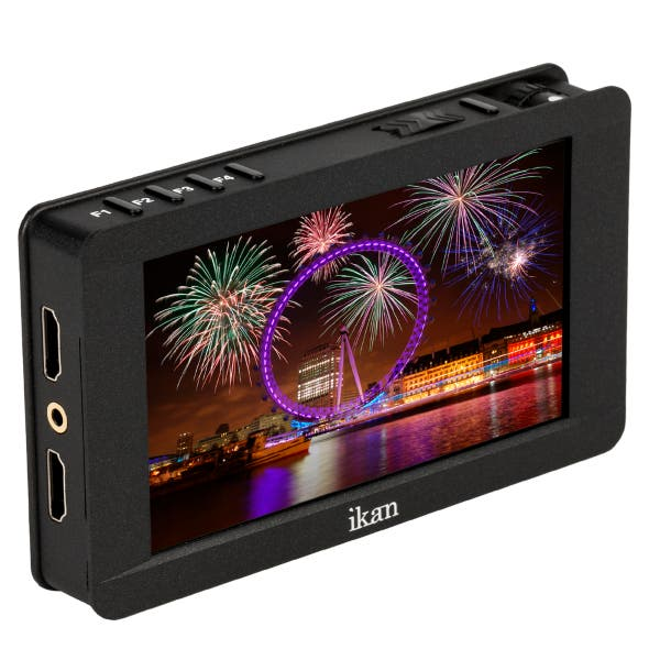 """Ikan DH5e 5"""" Full HD Touch Screen HDMI On-Camera LCD Field Monitor with 4K Signal Support"""
