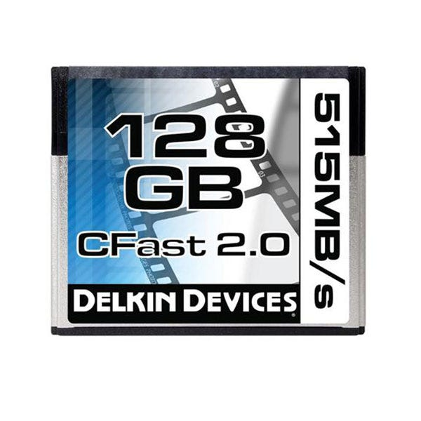 Delkin Devices 128GB CFast 2.0 Memory Card