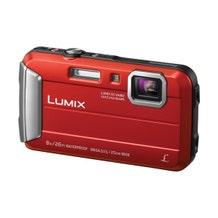 Panasonic Lumix DMC-TS30 Digital Camera - Red