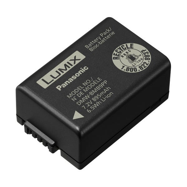 Panasonic DMW-BMB9PP Lithium-Ion Battery - 7.2V, 895mAh