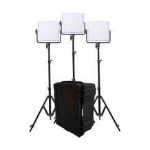 Dracast 728 RGBW Multi-Color LED Panel 3-Light Kit