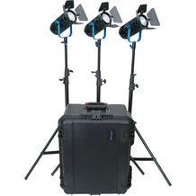 Dracast BoltRay 400 Plus LED DayLight 3-Light Kit