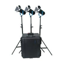 Dracast Boltray 600 Plus Daylight LED 3-Light Kit with Case