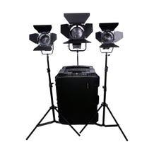 Dracast LED2000 3-Light Fresnel Kit (Daylight)