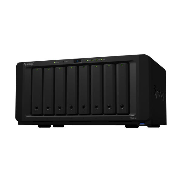 Synology DiskStation DS1819+ 8-Bay NAS Enclosure