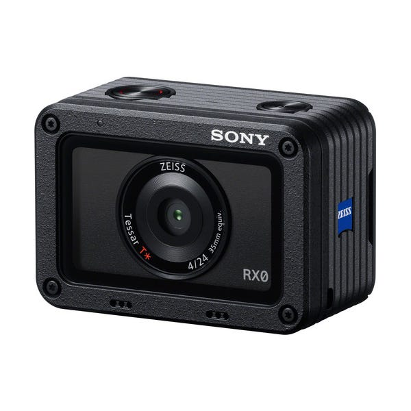 "Sony RX0 1.0""-Type Sensor Ultra-Compact Waterproof/Shockproof Camera"