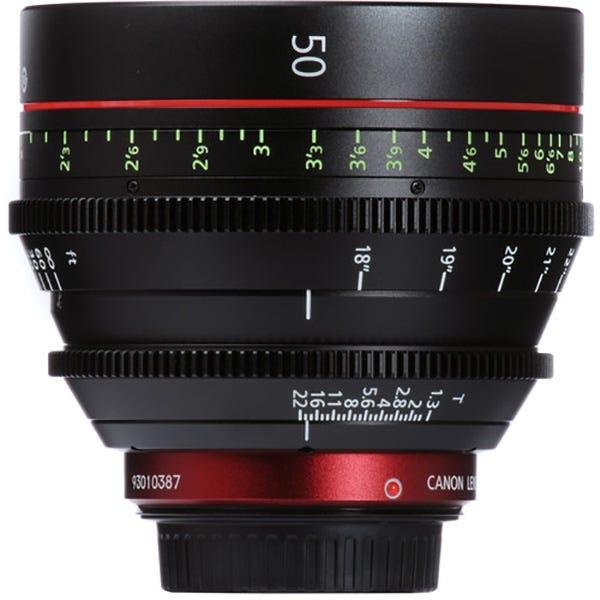 Canon CN-E 50mm T1.3 L F Cinema Prime Lens