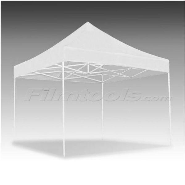 E-Z UP Eclipse 10 x 10' Aluminum Pop-Up Canopy - White