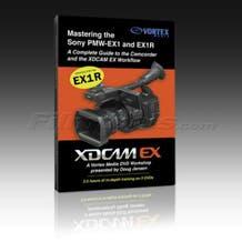 Vortex Media EX1DVD Mastering the Sony PMW-EX1/EX1R DVD Training Video