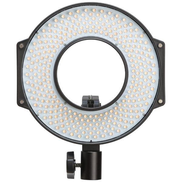 F & V Lighting R-300 SE LED Ring Light with L-Bracket