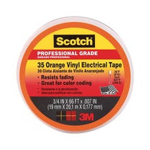 "3M Electrical Tape 3/4"" - Orange"