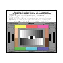 DSC Labs CamAlign Frontbox Series Color Chart - HD Professional Model FBP
