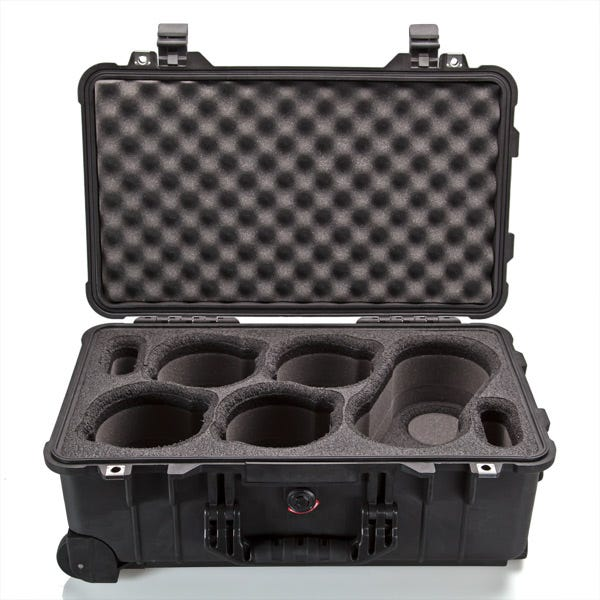 Pelican 1510 6-Lens Carry-On Case