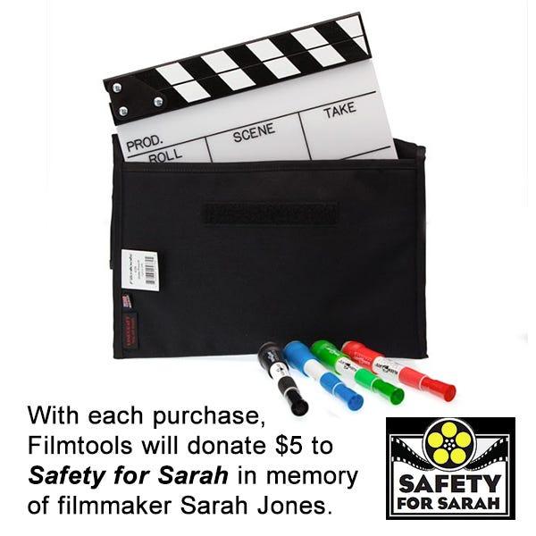 Filmtools Engraved Camera Slate Bundle