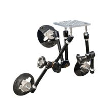 Filmtools Magic Mount - Car Mount - Includes 3 Magic Arms, 3 Suctions Cups, and a Cheese Plate