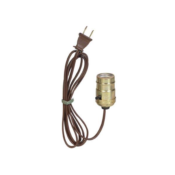 Filmtools Chinaball Lampholder Socket Assembly - Brown