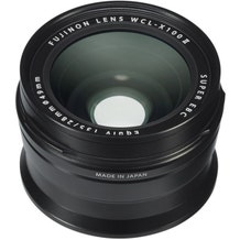 FUJIFILM Fujinon Super EBC WCL-X100 II Wide Conversion Lens - Black