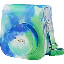FUJIFILM Groovy Tie-Dye Camera Case for instax mini 9 (Cobalt-Lime)