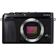FUJIFILM X-E3 Mirrorless Digital Camera - Black