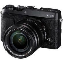 FUJIFILM X-E3 Mirrorless Digital Camera with 18-55mm Lens - Black
