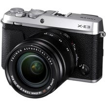 FUJIFILM X-E3 Mirrorless Digital Camera with 18-55mm Lens - Silver