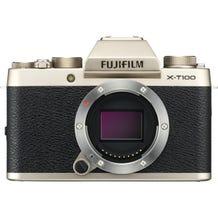 FUJIFILM X-T100 Mirrorless Digital Camera - Champagne Gold