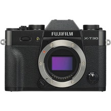 Fujifilm X-T30 Mirrorless Digital Camera - Black