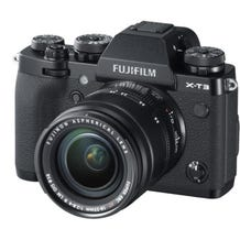 FUJIFILM X-T3 Mirrorless Digital Camera with 18-55mm Lens - Black